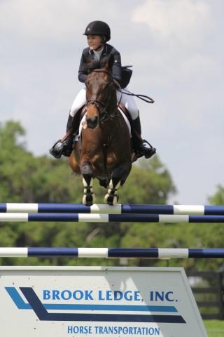 Chloe Reid equestrian show jumping